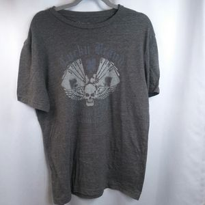 Lucky Brand Burnout Distressed Tshirt,M